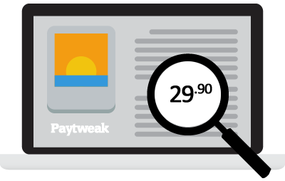 Paytweak message editor